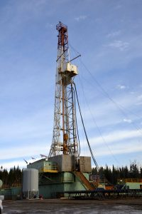 petrolia foreuse verticale