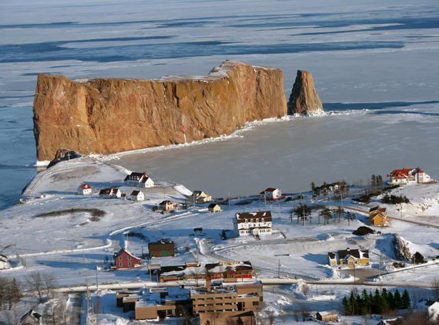 Perce hiver