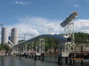 Ciment McInnis Cement Plant in Quebec