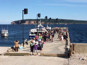 Percé tourisme quai 2