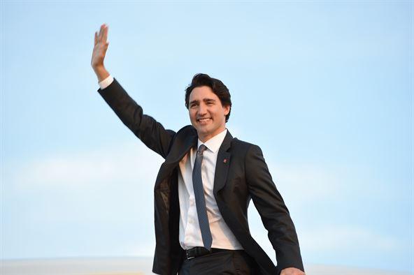 Justin Trudeau en Gaspésie