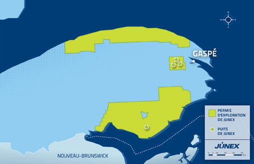 Des militants protestent contre l'exploitation pétrolière en Gaspésie