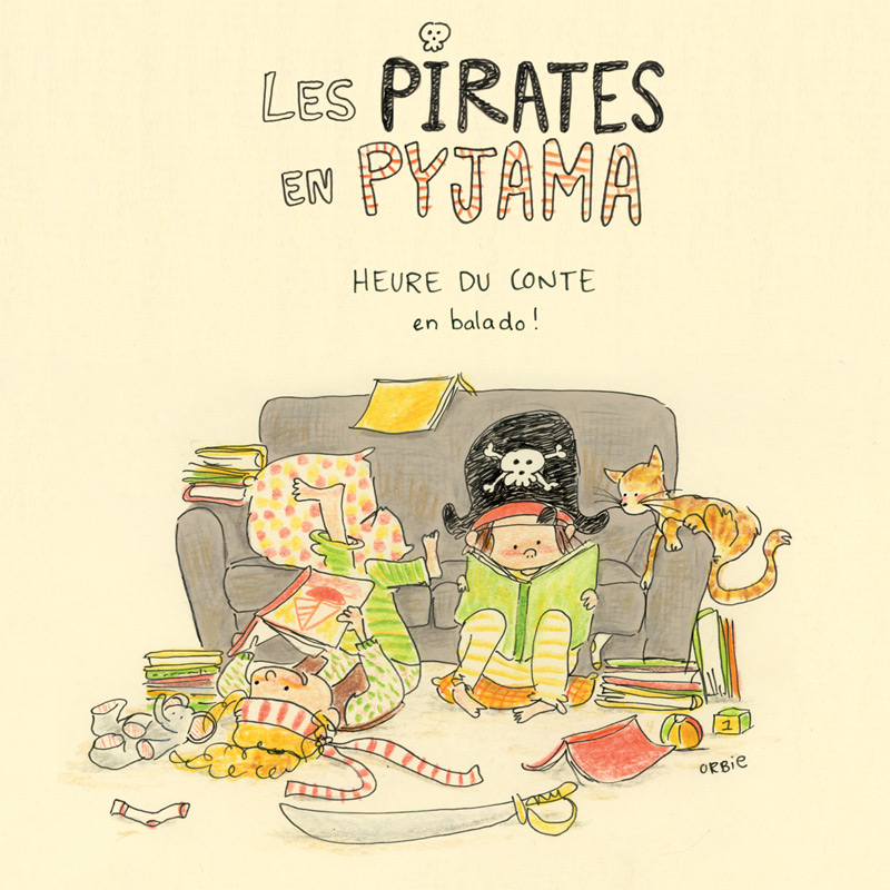 Les pirates en pyjama